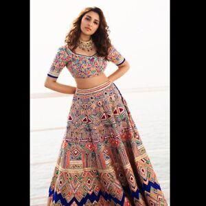 Femina Print Bollywood Indian Party Wear Lehenga Lengha Choli Stylish Pakistani