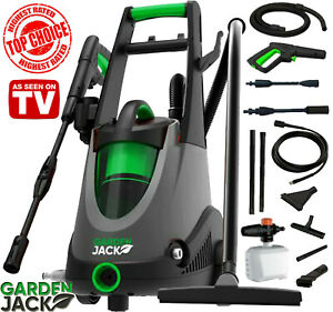 Gardenjack 2-in-1 Electric Pressure Washer with Built In Wet & Dry Vacuum System