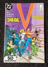 V #12 The VISITORS ARE OUR FRIENDS - SIEGE INFANTINO, Cary Bates (DC 1986) Comic