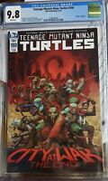 TEENAGE MUTANT NINJA TURTLES #100 2019 CGC 9.8 DEATH OF SPLINTER