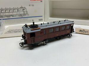 """Märklin HO 3425 """"Kittle"""" Steam Railcar Delta Digital Equipped w/box C8"""