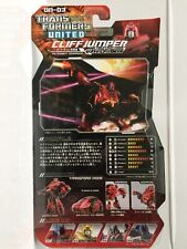 CLIFFJUMPER CYBERTRON MODE Transformers United UN-03 Takara Tomy Unopened/Sealed