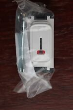 Legrand 20a DP Key Switch Module White Red LED Power Indicator (more Available
