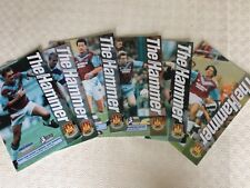 WEST HAM FOOTBALL PROGRAMMES 1993-94 ~ YOU CHOOSE OPPONENTS EXCELLENT CONDITION