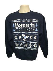 Baruch College Adult Medium Blue Sweatshirt