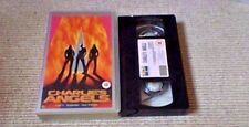 Charlie's Angels UK PAL VHS VIDEO 2001 Cameron Diaz Lucy Liu Drew Barrymore