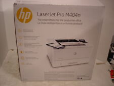 HP LaserJet Pro M404n W1A52A Laser Printer with Toner   ONLY 4 PAGES PRINTED