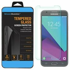 Premium Tempered Glass Screen Protector Guard for Samsung Galaxy J3 Emerge