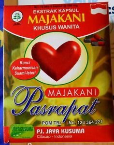 3 BOXES MANJAKANI PASRAPAT FOR FOR HEALTHY FEMININE ORGAN AND UTERUS