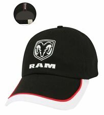 b062a61de4892 BRAND NEW OFFICIALLY LICENSED BLACK WHITE AND RED DODGE RAM TRUCK HAT CAP!