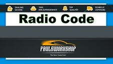 Radio Code - Nissan Radio Codes LCN Connect BOSCH MICRA NOTE QASHQAI JUKE
