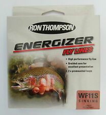 Ron Thompson Energizer Weight Forward 11 Sinking Fly Line WF11S Colour Brown