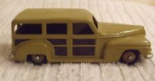 DINKY VINTAGE MODEL (RARE COLOUR)  ** PLYMOUTH AMERICAN ESTATE CAR ** CAT No 344