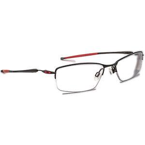 Oakley Eyeglasses 22-236 Transistor Ducati Pewter Half Rim Metal Frame 54-18 135
