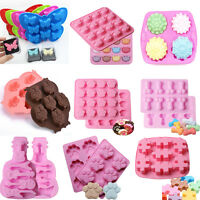 Silicone Fondant Mold Candy Cake Chocolate Decorating Ice Cube Mould Mold Tool