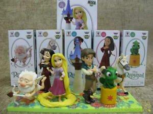 Bangarest Disney Characters World Collectible Figure Rapunzel On The Tower