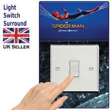 Spiderman Light switch surround Sticker/Decal Children, Boys Girls Room-sw7