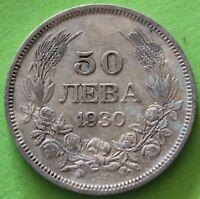 BULGARIE 50 LEVA 1930