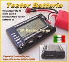 Tester Battery Checker Batteries Capacity Controller Lipo Life LI-ION Nimh Nicd