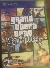 "Grand Theft Auto: San Andreas ""AO"" Version (Microsoft Xbox, 2005)"