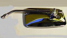 Triumph  750, 1979-83, (1) ONE, Left or Right Rectangular Mirror, 10mm stem.