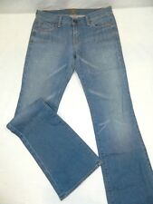 Tag: 29 7 For All Mankind Low Rise Boot Cut USA Made Denim Blue Jeans