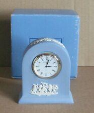 Wedgwood Jasperware Blue Small Dome Clock