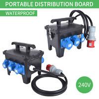 NEW Portable Distribution Board,Power Box, Stage, Event Distro, Splitter63A-32A