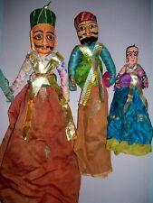 3 alte Marionetten China Taiwan ? Deko