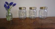 3 X MASON 500ml vintage retro jars, food Storages Jam Crafts weddings tealights