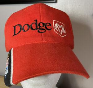 Nascar Hat Cap # 9 Bill Elliott Dodge Ram, SnapBack, Used