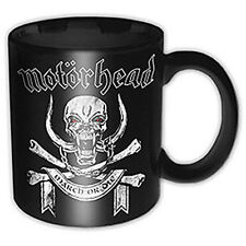 Motorhead - March Or Die Ceramic Coffee / Tea Mug - New & Official In Box