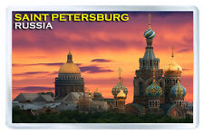 SAINT PETERSBURG RUSSIA FRIDGE MAGNET SOUVENIR IMAN NEVERA