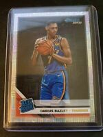 Darius Bazley 19-20 Donruss Rated Rookie Infinite Mojo #249 Oklahoma Thunder
