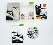 Batman: Arkham City Xbox 360 Limited Embossed SteelBook Edition Complete Manual