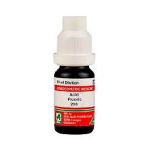 ADEL Acid Fluoric Dilution 200 CH 10 ml{Made in Germany}