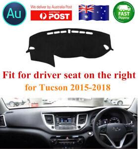 RHD Car Dashboard Mat Dashcover Mat Pad For Hyundai Tucson 2015-2019