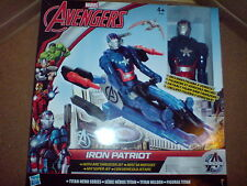 Avengers Age of Ultron IRON PATRIOT con arco propulsore jet NUOVO