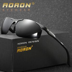 Mens Polarized Pilot Sunglasses Outdoor Driving Sun Glasses Sport Eyewear UV400