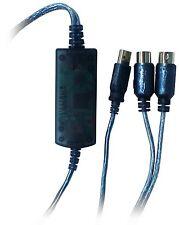 New Yamaha UX16 USB-MIDI Converter (Cable) UX-16 Interface Japan