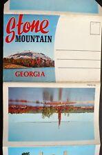 1950s Stone Mountain GA CSA Memorial Mountain Inn Game Ranch Scenic RR Camping