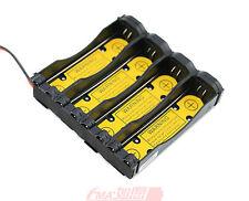 One 1S4P Battery Holder Case for Li-ion 18650 17670 w/Pcm inside output:3-4.2V