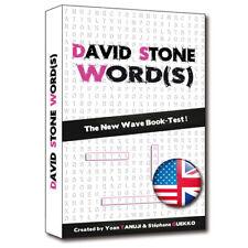 David Stone Words - English Edition Mentalism Magic Tricks Book Test