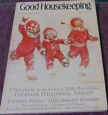 Good Housekeeping February 1931/Jessie Wilcox Smith/Agatha Christie