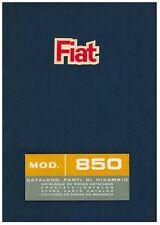 CATALOGO PARTI RICAMBIO MECCANICA FIAT 850 Coupè e Spider anno1965 (Formato PDF)