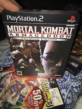 MORTAL KOMBAT ARMAGEDDON PREMIUM EDITION COMPLETE (PS2) Nice
