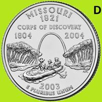 2003 D Arkansas Quarter 50 State ~ UNC 2nd   MAX .55 Comb Ship