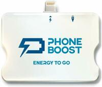 Phoneboost Rechargeable 1500mAh Mini Powerbank Small, Lightweight, Compact, 8PIN