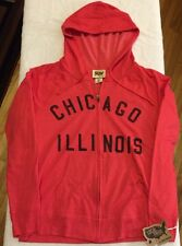 Chicago Illinois NEW NWT Zip Made USA Local Pride Todd Snyder Retro M Red Hoodie