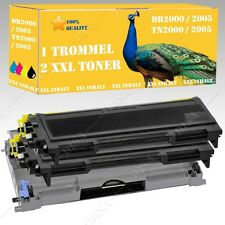 Drum +2Toner Suitable for Brother DR2000 TN2000 DCP-7010 L DS-Shop24